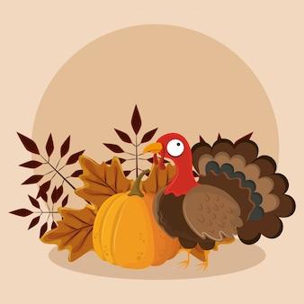 Thanksgiving-dag eten