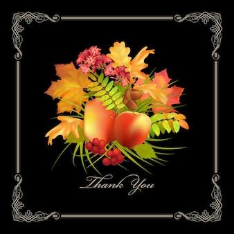 Thanksgiving-dagkaart