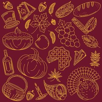 Thanksgiving-dagpatroon