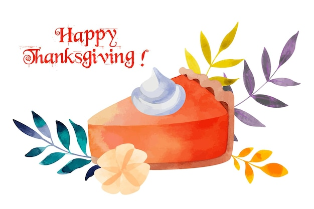 Thanksgiving day ansichtkaart
