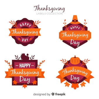 Thanksgiving day labelverzameling