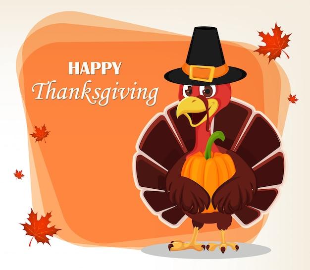 Thanksgiving day wenskaart
