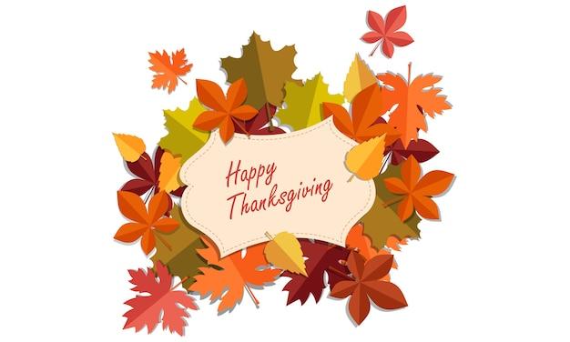 Thanksgiving-kaart