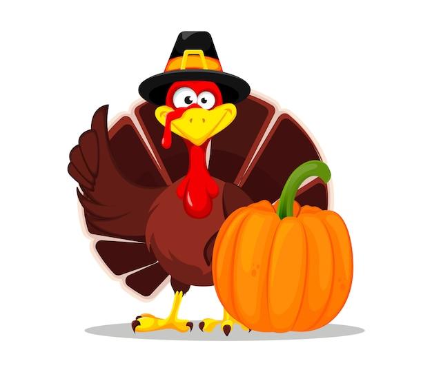 Thanksgiving kalkoen. happy thanksgiving day