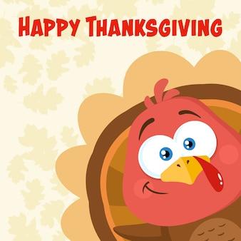 Thanksgiving wenskaart