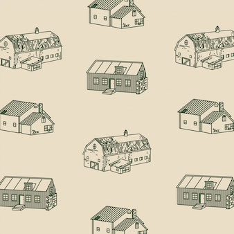 The cabin illustraties