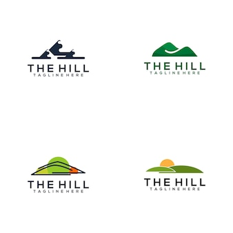 The hill logo collection