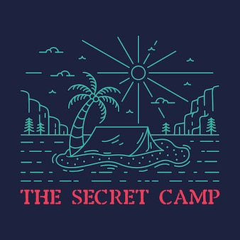 The secret camp