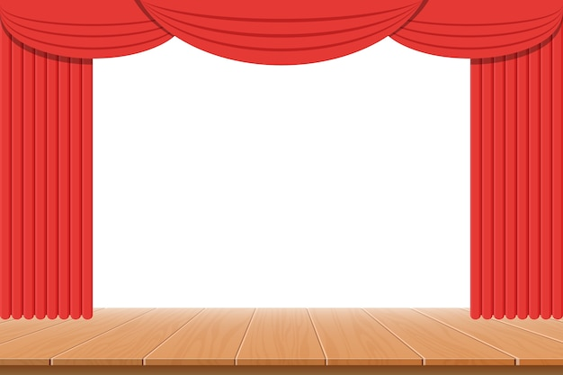 Theater gordijn