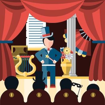 Theater toneelstuk concept