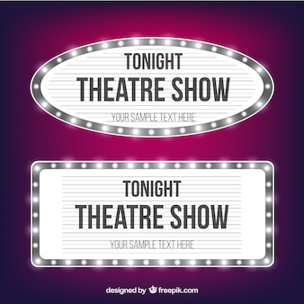 Theater uithangborden