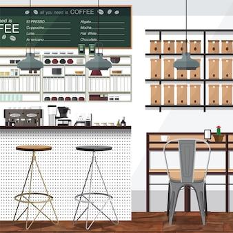 Thee en koffie winkelzaken