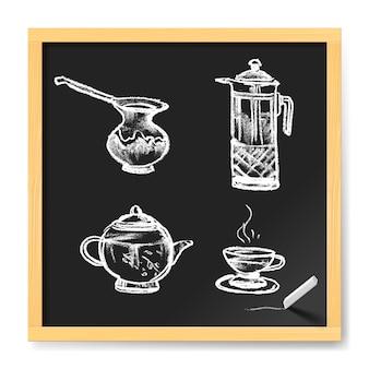 Thee en koffie