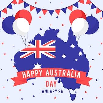 Thematisch thema voor de dag van australië