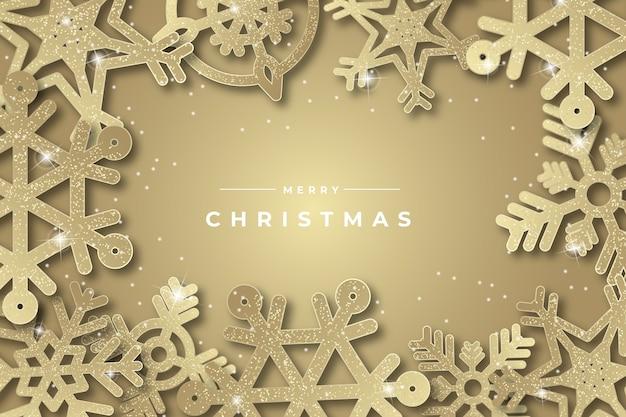 Thematische achtergrond met kerstmisconcept