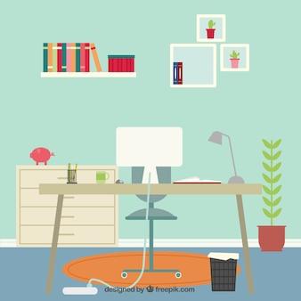 Thuis werkruimte