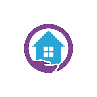 Thuiszorg logo sjabloon