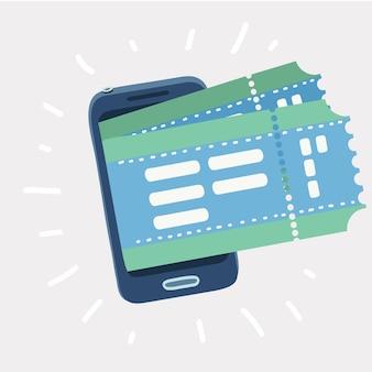 Ticket boeken met smartphone