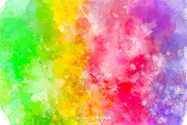 Tie-dye stijl regenboog achtergrond