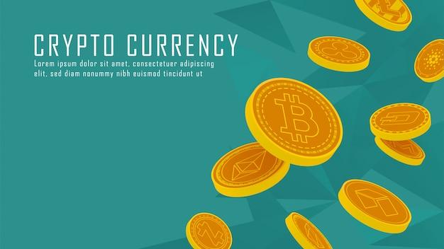 Tien beroemde cryptocurrency