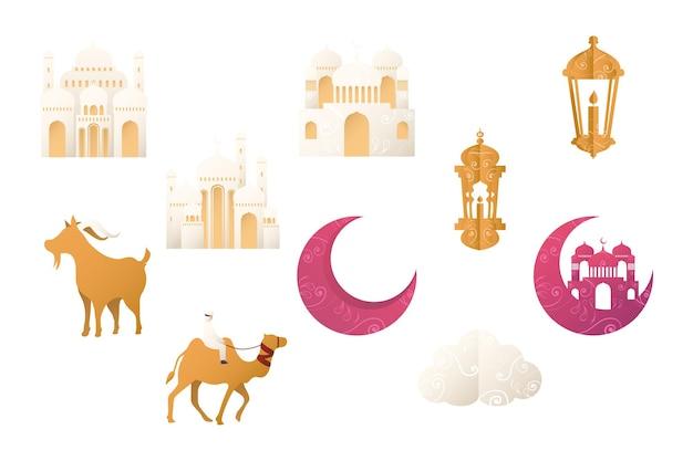 Tien eid-festivalelementen