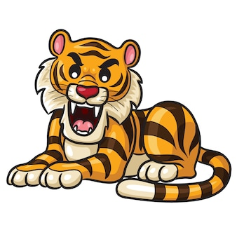 Tiger cute cartoon