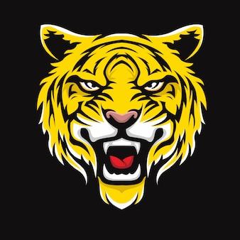 Tiger gezicht