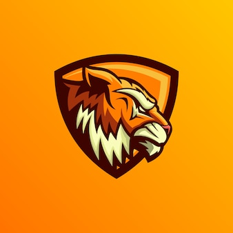 Tiger logo ontwerp