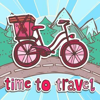 Tijd om met de fiets te reizen
