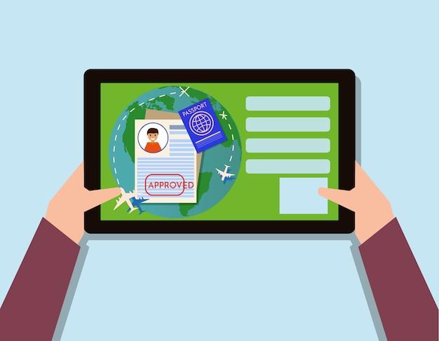 Tijd om te reizen met paspoort