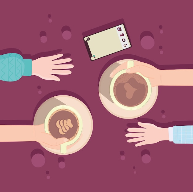 Tijd voor koffiepauze