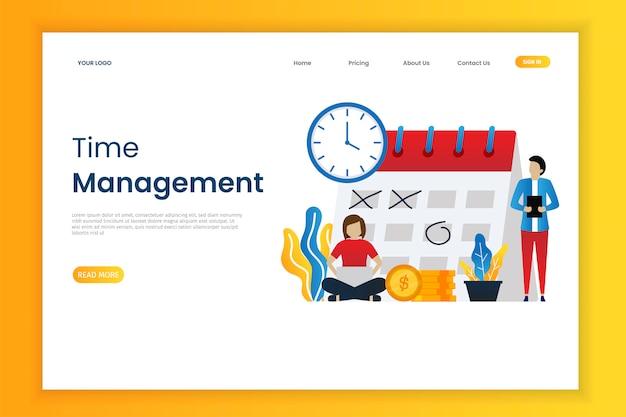 Tijdbeheer en zakelijke planning met karakter