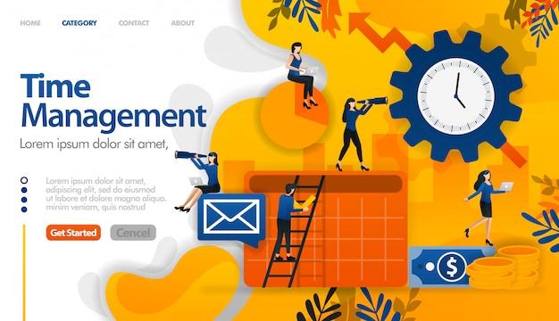 Tijdmanagement, planning, planning van zakelijke en financiële projecten