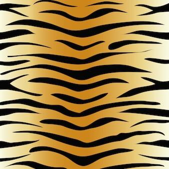 Tijger dierenprint patroon