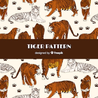 Tijger patroon