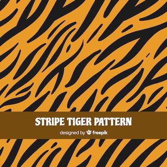 Tijger strepen patroon