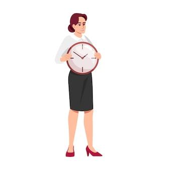 Time management vaardigheden illustratie