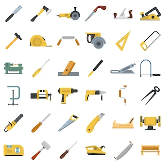 Timmerman icon set
