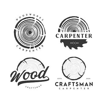 Timmerman logo illustratie