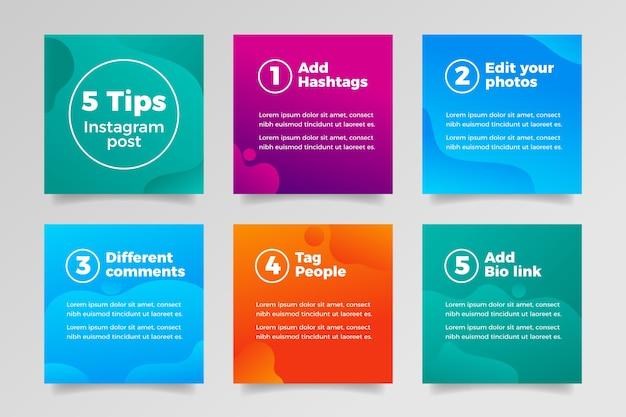 Tips instagram post verzameling