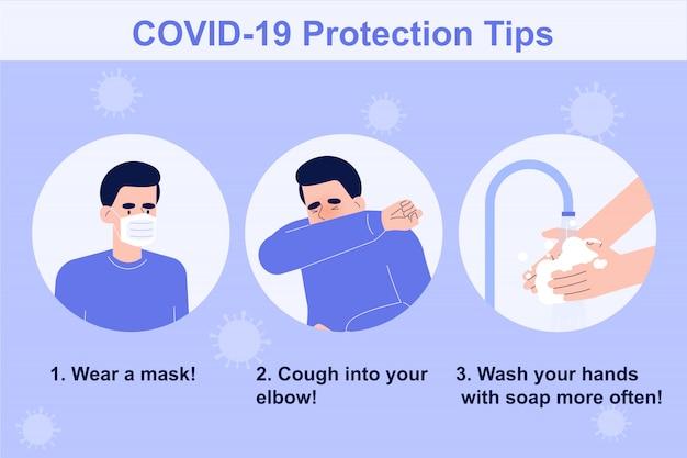 Tips voor bescherming tegen coronavirus