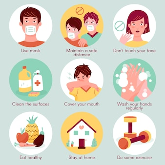 Tips voor coronaviruspreventie