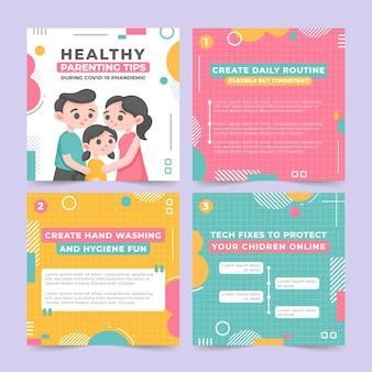 Tips voor gezond ouderschap voor instagram