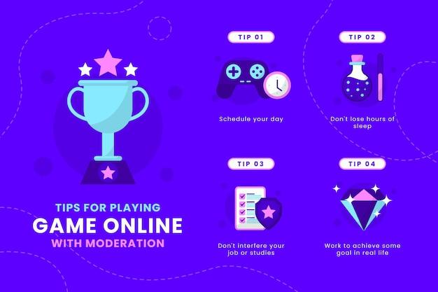 Tips voor het met mate spelen van online games
