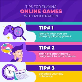 Tips voor het spelen van videogames met plezier en gematigdheid
