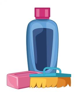Toebehoren voor reiniging en hygiëne