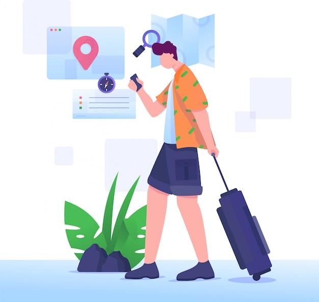 Toerisme zoeklocatie