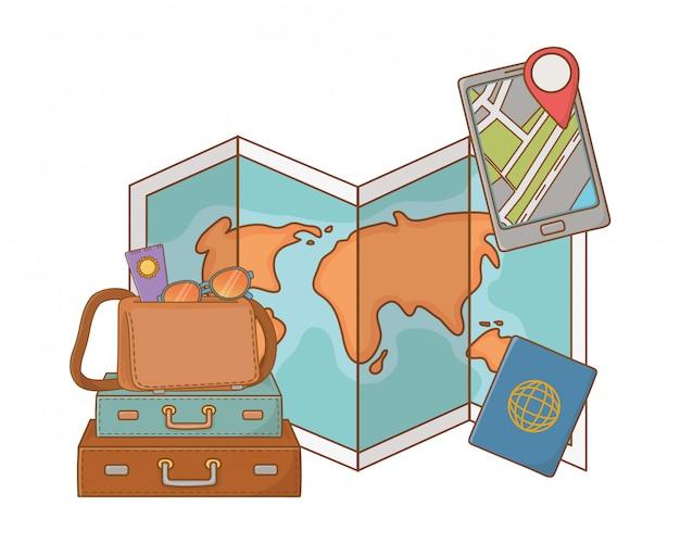 Toeristenreis zomerreizen