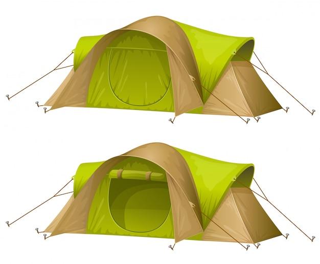 Toeristische tenten