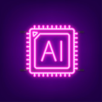 Toevoegen aan winkelwagen icoon. neon icoon. winkelwagen pictogram. vector illustratie.